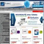123elec, site e-commerce de matériel électrique