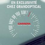 Des modèles de la nouvelle collection de lunettes Carrera en exclusivité chez GrandOptical