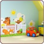 Les stickers enfants très utiles pour la décoration d'une chambre d'enfant